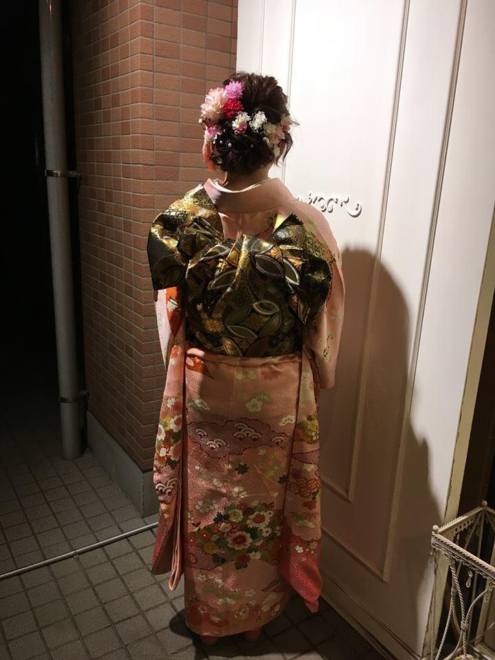 つくば市二ノ宮の美容室shareの成人式・着付けやセットやメイクも承ります。