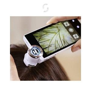 つくば美容室・美容院shareの毛髪診断するためのデバイスマイクロカメラ